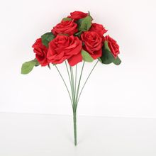 Buy nine flowers and get free shipping on aliexpress artificial flower nine head french rose flowers wedding decoration multi color beautiful home decoration accessories junglespirit Gallery