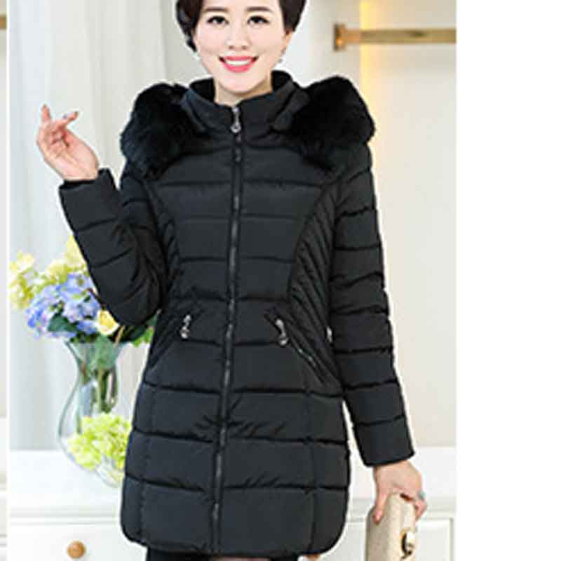 Della P7823 Modo Coreano verde Inverno Madre Cotone Il Del Cappotto Nero E  rosso Di grigio ... 9b0260349aa