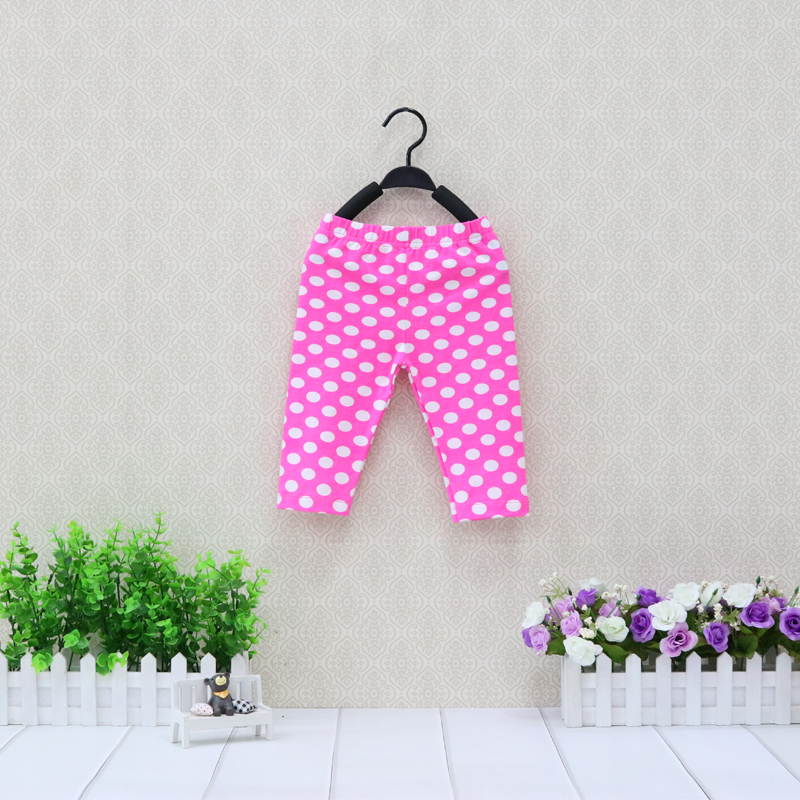 Girls Cotton Leggings Baby Long Trousers Children Summer And Autumn Pants Newborn Clothes Christmas