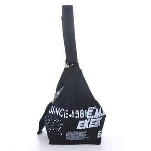 Women's Fashion Korean Style Canvas Preppy Campus Handbag Bag Shoulder Shopping Bag