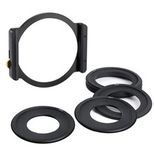 K&F Concept Square Filter Metal Holder + 7pcs Adapter Rings For camera lens