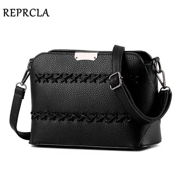 New Designer Women Bag Knitting Vintage Messenger Bags Fashion PU Leather Shoulder Bag Crossbody For Women Bolsa LM87