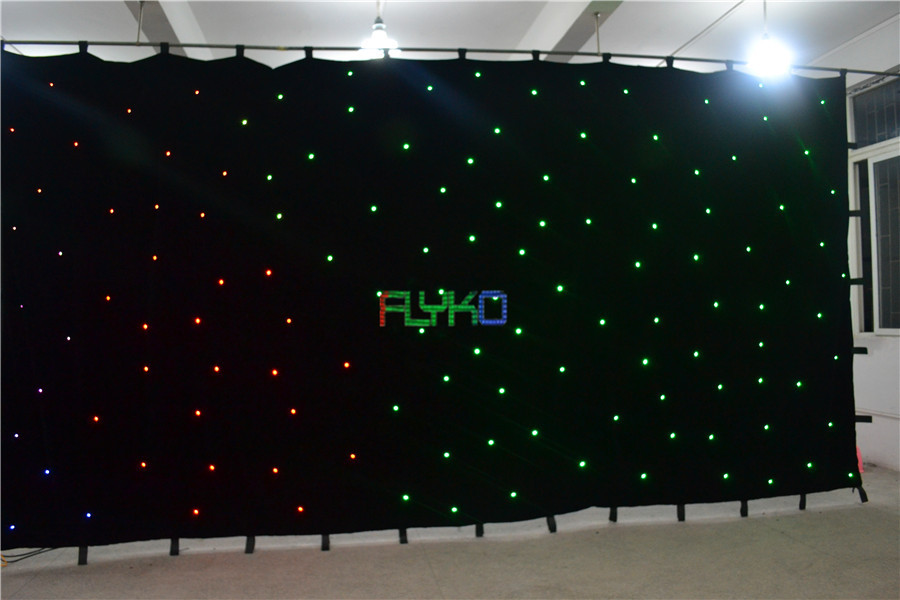 free shipping chrismas usage 3x6m led star cloth on aliexpress