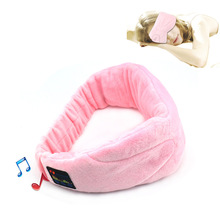 Bluetooth Headphone Sleep Head band Stereo Music Headset Hat Eye Shield Sleep Eyeshade Wearable Devices Hands-free for Iphone