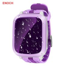 2019 Cheap Kids Baby Support GPS WiFi Locator Tracker Position Colorful Display Smart Watches Anti-lost Monitor Phone Watch#A(China)