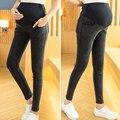Высокая Одежда Для Беременных Материнство брюки беременность Капри Для Беременных Брюки Для Беременных Gestante Pantalones Полная Длина