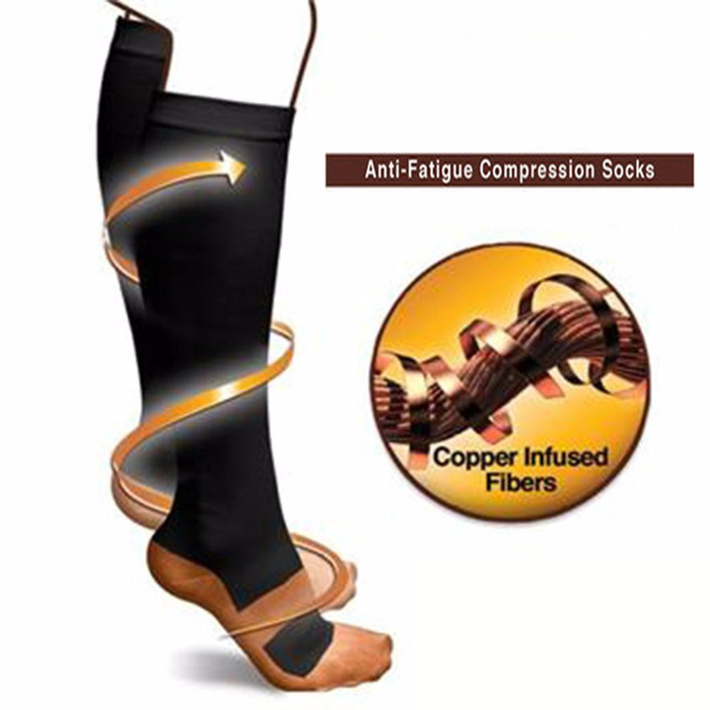 Fashionable Anti-Fatigue Compression Socks Comfortable Relief Soft Men Women Anti Fatigu ...