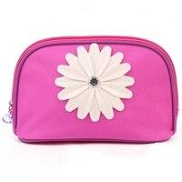 Designer viagem cosmetic case waterproof pouch make up bag for travel flower organizer bag wash punch cosmetic bag