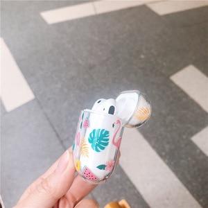 Image 5 - かわいいフラミンゴハードケース Apple の Airpods ケースイヤホン保護カバー Airpods 1/2 ヘッドセットアクセサリー耐衝撃シェル