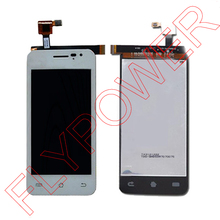 For JIAYU G2S Touch Screen Digitizer + LCD Display Assembly White by free shipping; 100% warranty