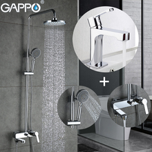 Basin Shower-Set Bathtub GAPPO Tap-Bath-Faucet Mixer Rain Taps Sink Waterfall