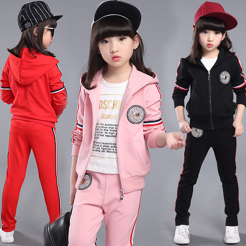 Children Suits Children 3 to 12 years old girl Exquisite Dress Clothes stylish cross and wing shape multi layered friendship bracelet for women
