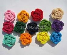 Бесплатная доставка! 50 шт/лот 3 см новые войлочные цветы мужские