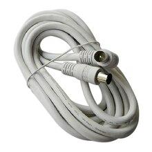 3 m antena de televisão PAL masculino, masculino F tipo de cabo coaxial conector Dell cabo cabo