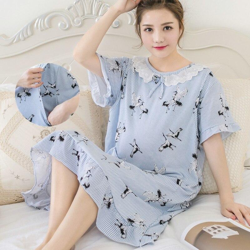 ffb50b3e6 ... Preguntas sobre Maternidad y lactancia camisones habitación desgaste  ropa de dormir camisón madres Pijamas de lactancia pijamas vestido de  embarazo