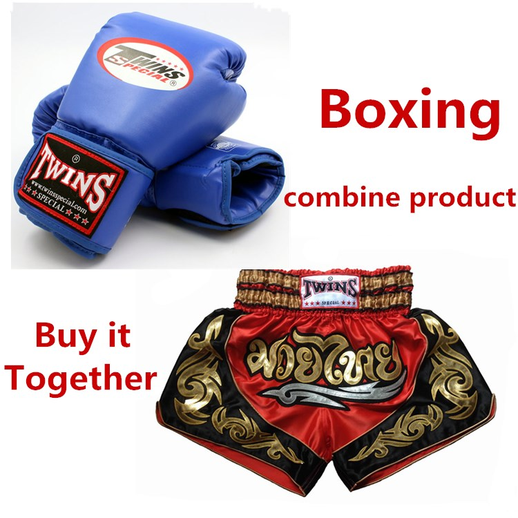 Free shipping 1Pair Adult Men Women Twins Boxing Gloves+1pc Boxing Pants Men's Sport Boxeo Pants Golden Flame Muay Thai Shorts wesing boxing kick pad focus target pad muay thia boxing gloves bandwraps bandage training equipment