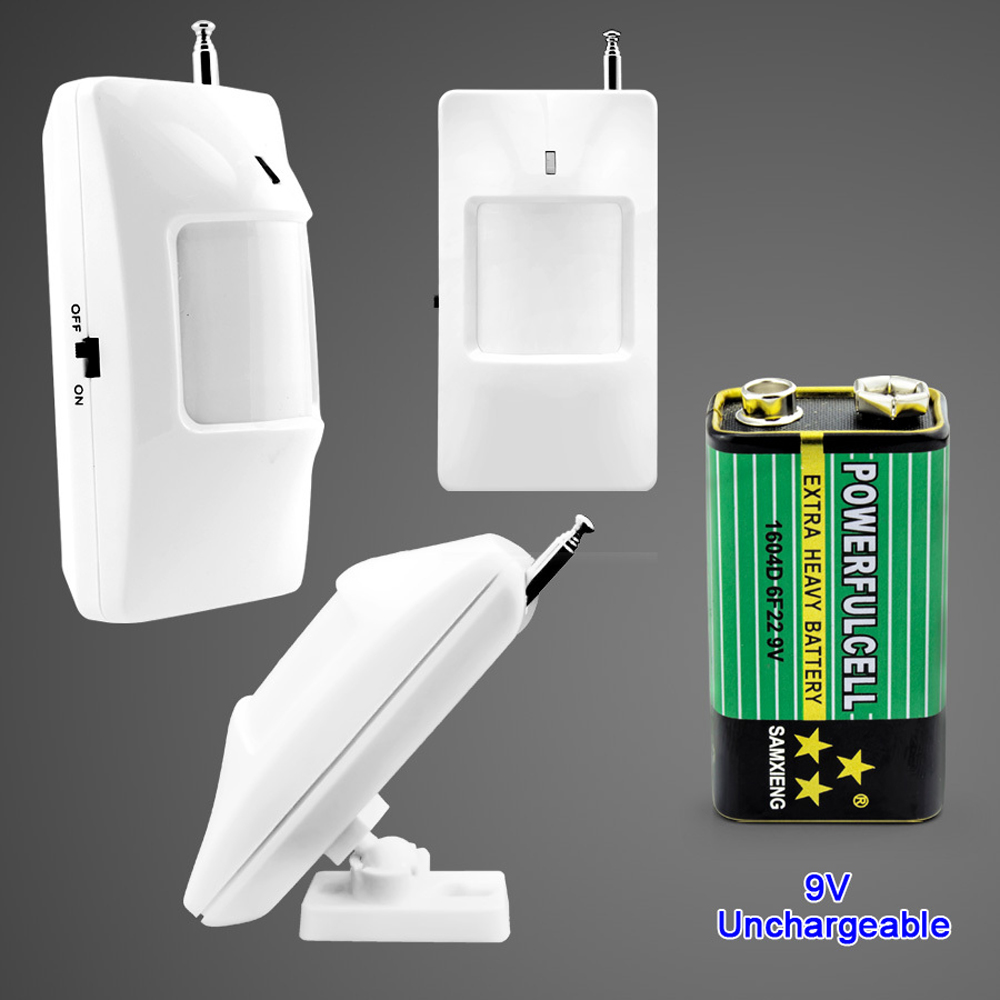 Home-security-protection-GSM-SMS-wireless-Alarm-system-PIR-Motion-detector-Smoke-alarm-Magnet-door-Sensor (4)
