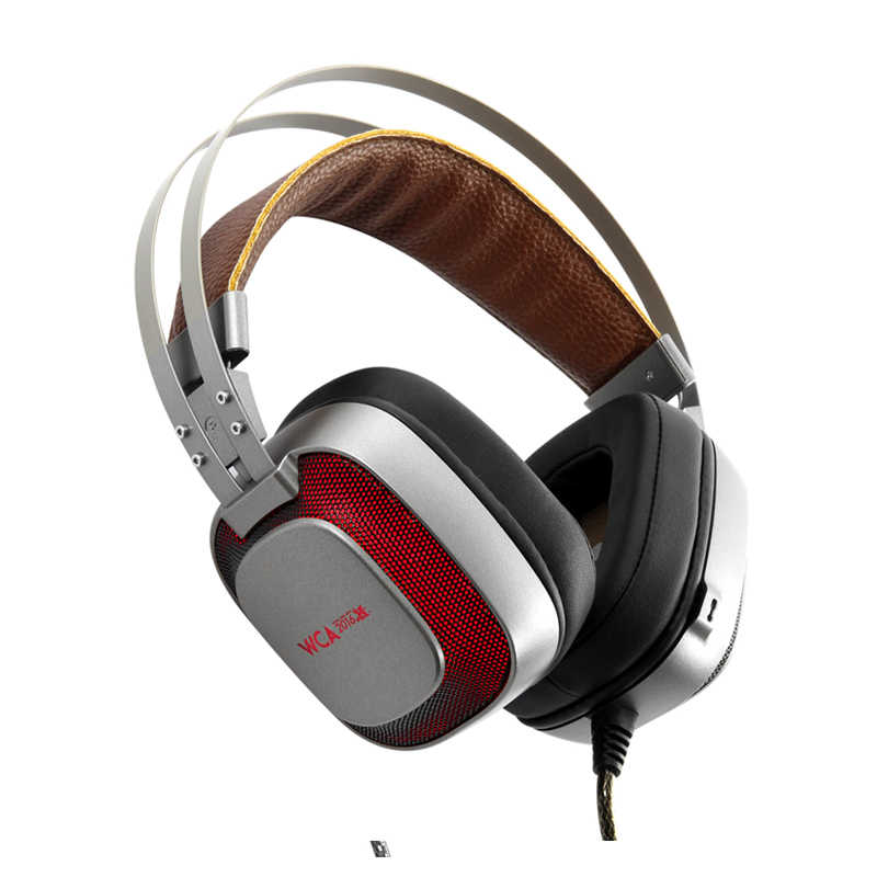 Игровые наушники XIBERIA K10, стерео шлем USB 7,1, объемный звук, игровая гарнитура с микрофоном, светодиодный свет для компьютера, ПК, геймера