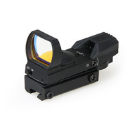 PPT Tactical 1X Magnification 4 Reticle 11MM Base Mini Red Dot Scope For Hunting Shooting HS2 0094B