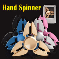 5 Colors EDC Fidget Spinner Tri Spinner Hand Spinner Alloy Fidget Toy Anxiety Stress Adults Kid