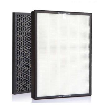 For Sharp KI-GF60 FX/EX75 WF606 Air Purifier Hepa Filter 432*238*35mm+Actived Carbon Filter 432*238*10mm