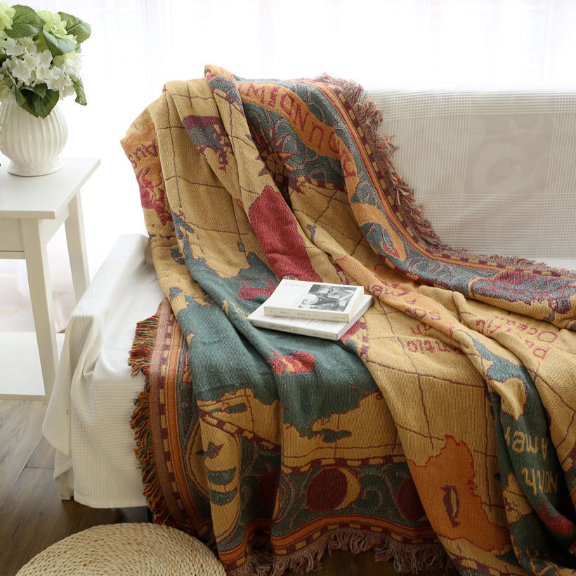 World map blanket throw rugs tapestry vintage sofa cover home decor world map blanket throw rugs tapestry vintage sofa cover home decor wall hanging in blankets from home garden on aliexpress alibaba group gumiabroncs