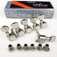 Antique Black Electric Guitar Machine Heads Tuners for ST or TL Tuning Pegs J-07 Antique Color ( With packaging ) antique black electric guitar machine heads tuners for st or tl tuning pegs j 07 antique color with packaging