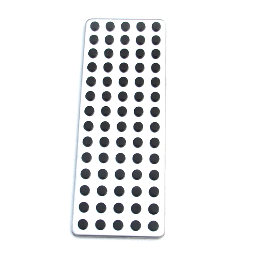 Carmonsons Footrest Pedal Pad Cover for Mercedes Benz A B