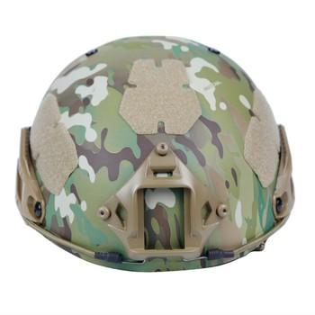 2-in-1 outdoor tactical helmet field equipment protective camouflage helmet Bicycle Helmet