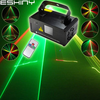 ESHINY R&G Laser Lines Scans Beam Remote DMX DJ Dance Bar Disco Coffee Xmas Family Party Lighting Effect Stage Light Show N7B124