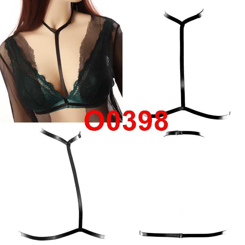 Kobiety szelki Plus rozmiar biustonosz gotycka moda z najwyższej półki seksowny pas piersiowy dekolt bielizna drążą festiwal Rave okazje odzież