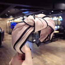 Solid Colors Hair Knotted Band for Women Headbands Hairbands Head wear 2018 New Arrival fashion hair accessories