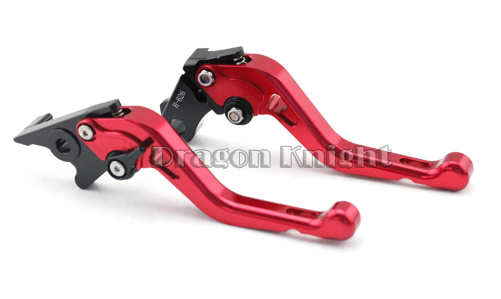 Motocycle Accessories For HONDA CB300F CB400F CB500F 13-15 Short Brake Clutch Levers Red motocycle accessories for honda cb600f cb900f cbf600 short brake clutch levers black