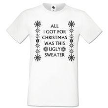 aa890122 Men's Christmas Novelty Print T Shirt Explicit Top Funny Rude Joke Xmas  Gift Ale Cool Casual