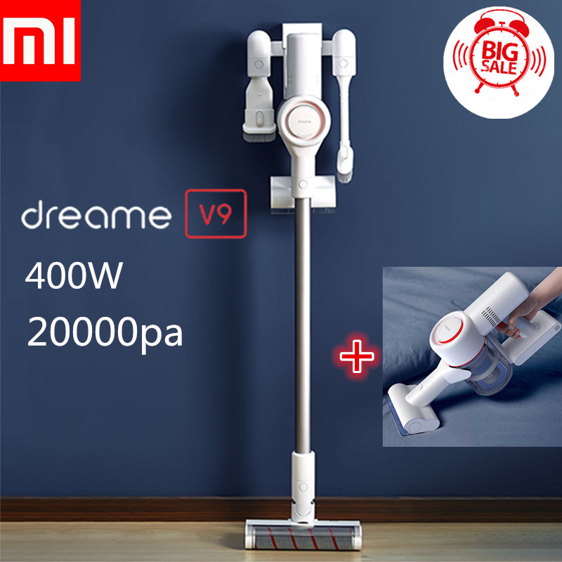 Xiaomi Dreame V9 Vacuum Cleaners Cordless Handheld Vacuum Cleaners 400W 20000Pa Acarid-Killing For Home Car From Xiaomi YoupinXiaomi Dreame V9 Vacuum Cleaners Cordless Handheld Vacuum Cleaners 400W 20000Pa Acarid-Killing For Home Car From Xiaomi Youpin