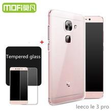 leeco le pro 3 case cover letv le pro3 glass tempered film le eco le x720 3pro prime screen protector 128gb 5.5 inch silicone