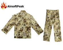 Men s Snake Skin Combat Zipper Jacket Long Cargo font b Pant b font Paintball Airsoft