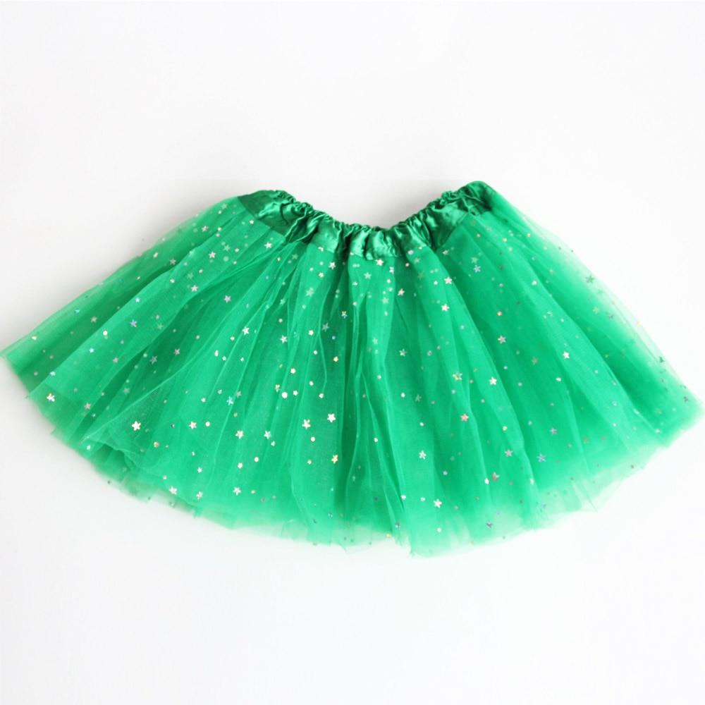 Summer Kids Baby Star Glitter Dance Tutu Skirt For Girl Children VQSw I