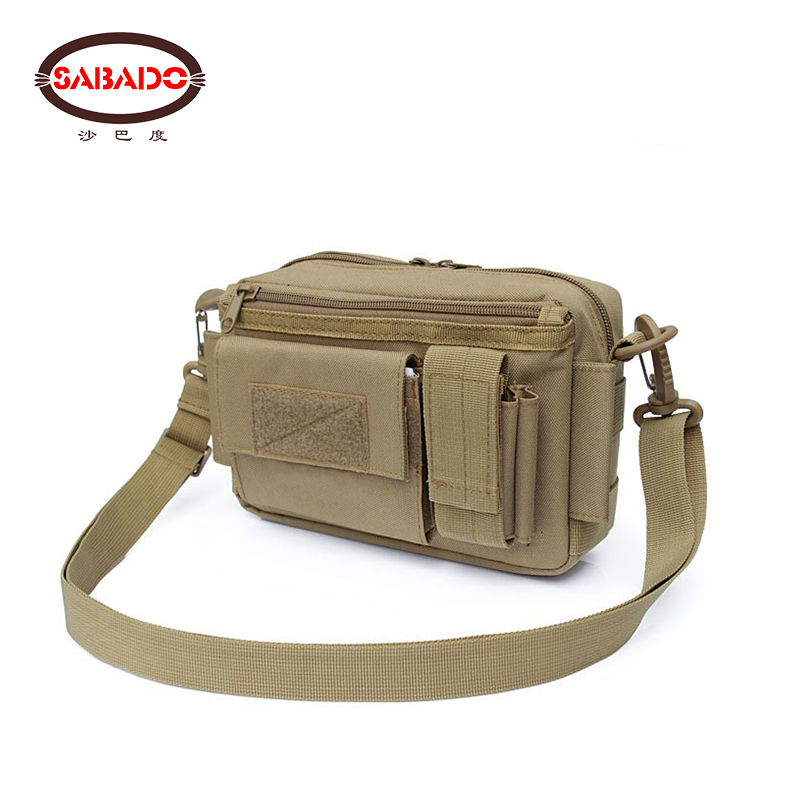 600D PVC camouflage water proof comfortable waist bag Inclined shoulder bag hiking Handbag bags