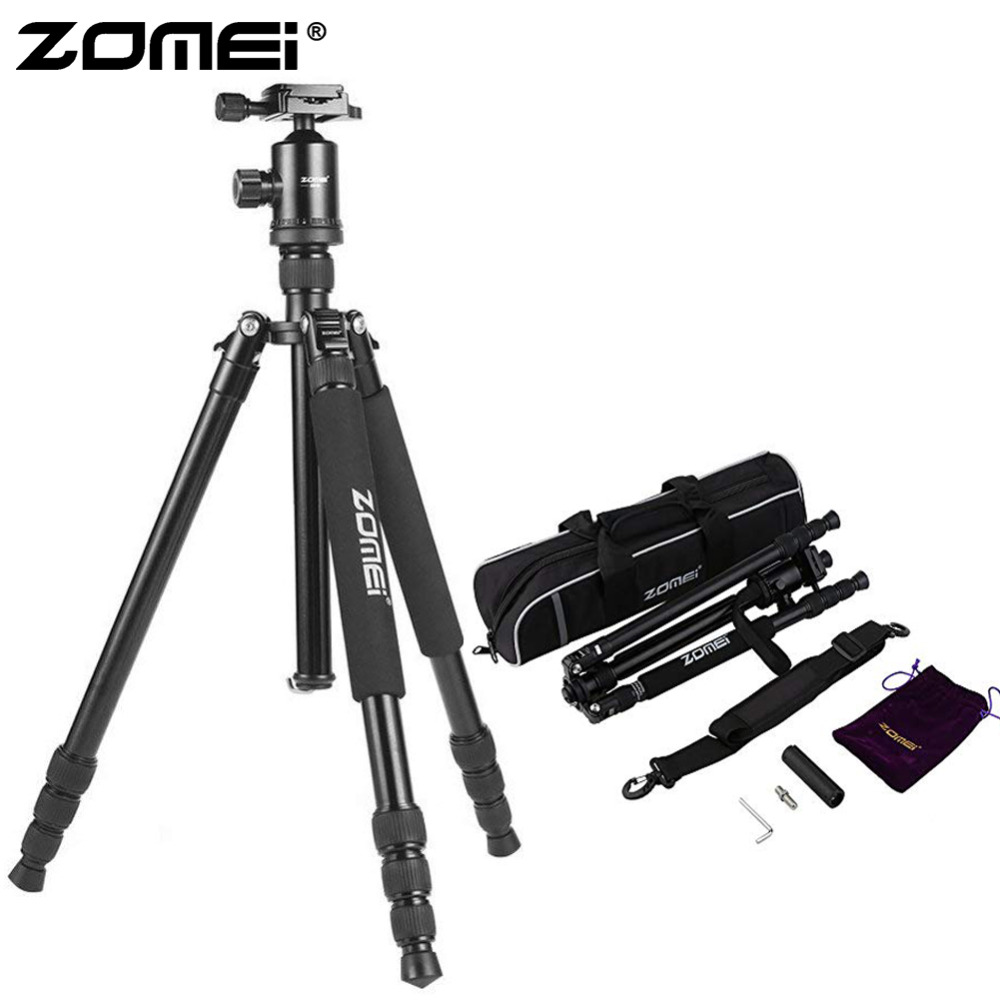 ZOMEI Z888 Camera Tripod & Monopod Lightweight Travel Tripod with 360 Degree Ball Head and Carry Bag for SLR DSLR Digital Camera|Live Tripods| |  - title=