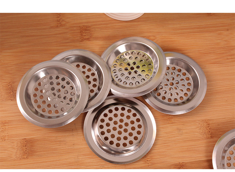 Incroyable 20PCS/LOT Stainless Steel Kitchen Sink Basin Bathtub Hair Drain Mesh Waste Plug  Hole Filter Flume Sink Strainer KC 1404 In Colanders U0026 Strainers From Home  ...