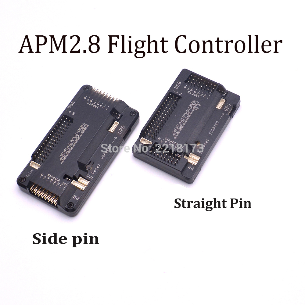 APM2.8 APM 2.8 Flight Controller Board side pin / straight pin For RC Quadcopter F450 S500 X500 2016 high quality horizontal side pin apm 2 8 flight controller board for multicopter ardupilot