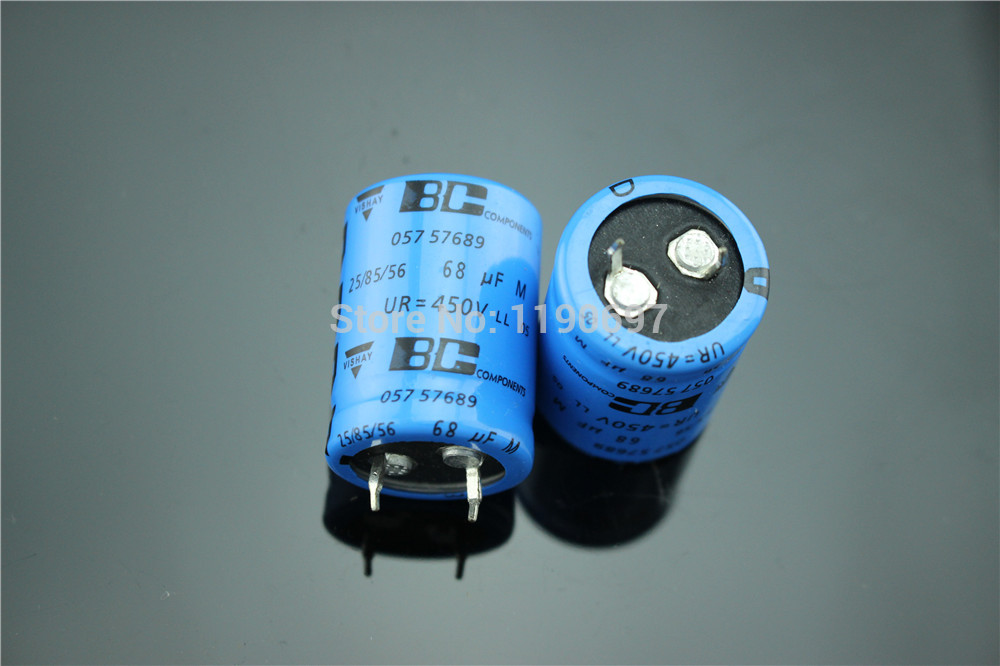 VISHAY BC Amps Electrolytic Capacitor Filter Capacitors DIY HIFI 450V 100UF 1Piece Free Shipping