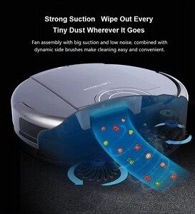 Image 5 - Robot Vacuum Cleaner ZK808 LIECTROUX, WiFi App, Mapa de Navegação, a Memória Inteligente, UV Esterilizar, mop Seco molhado, Sucção 3KPa, Motor Brushless