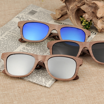 BOBO BIRD Wood Sunglasses Men Women Luxury brand wooden Fashion Sun Glasses Ladies W-hAG029 2