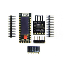LILYGO®TTGO TQ ESP32 0.91 OLED PICO D4 WIFI et carte de Prototype de LoT Bluetooth