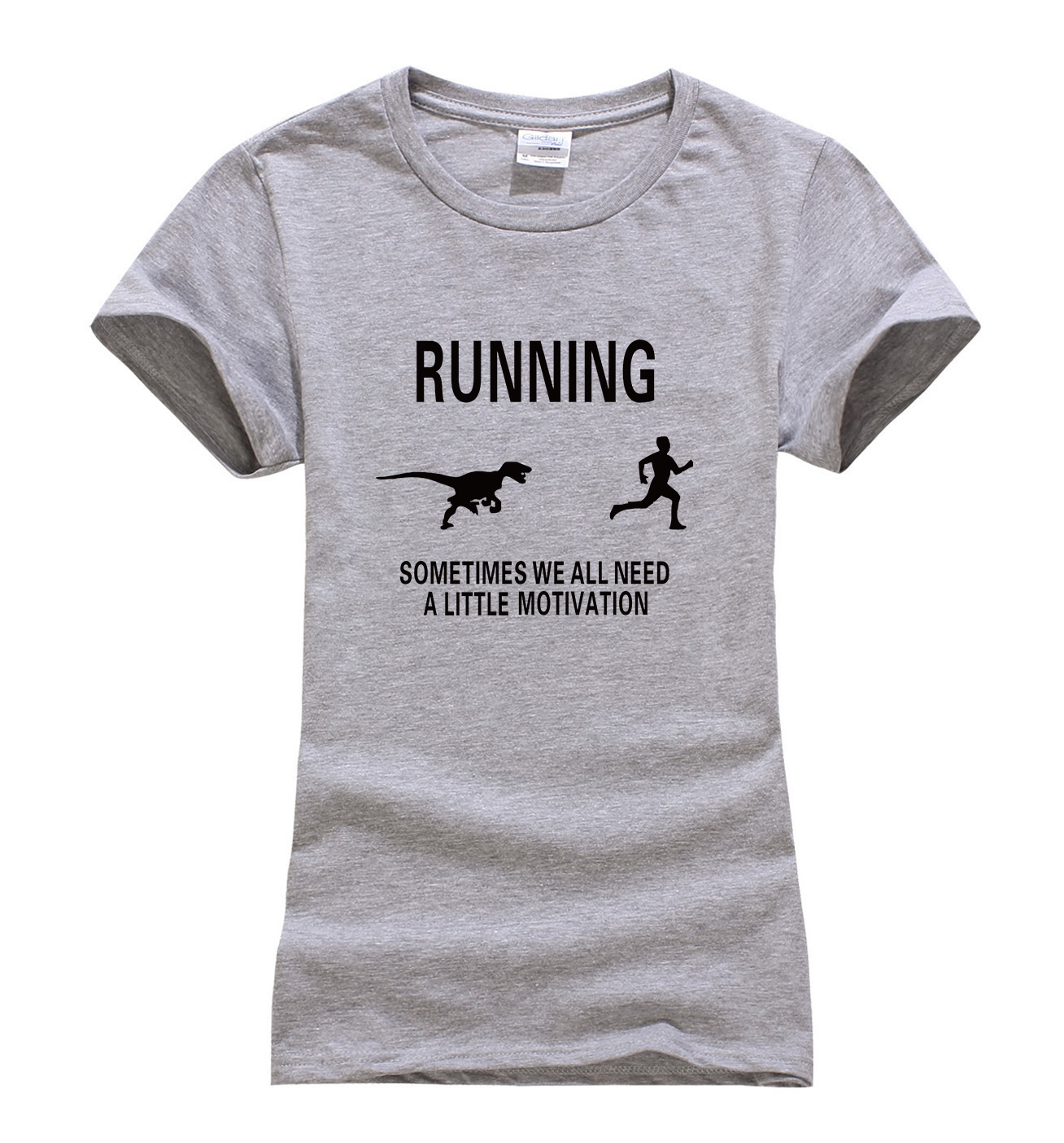 c60d786205 2017 Summer fitness fashion Motivate Runners print t shirt Women .