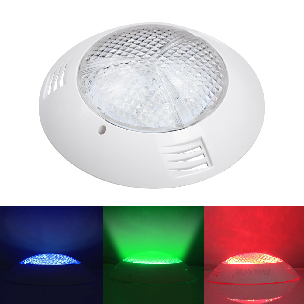 Analytical 54w Rgb Swimming Pool Lamp Ip68 Waterproof Underwater Spotlight Remote Control Pond Lights Ac/dc 12v Lighting Fountain Moderate Cost Led Underwater Lights