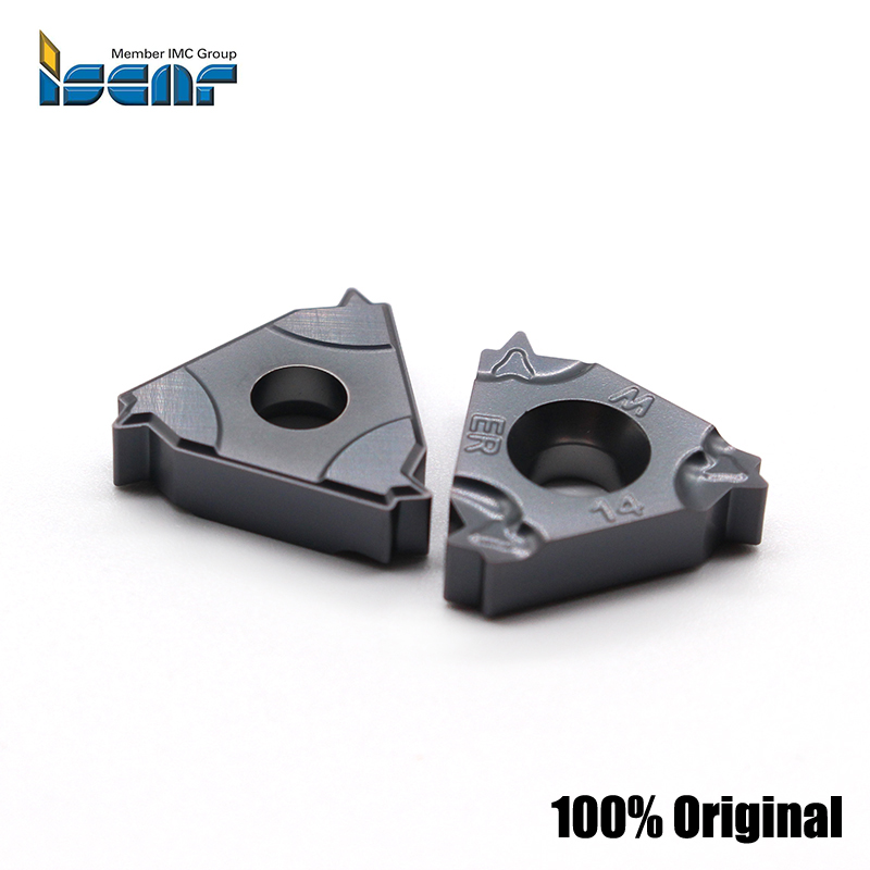 ISCAR 16IR 16ER 14W 11W 19W 55 angle Thread turning tool Tungsten Carbide Insert Threading Lathe Cutter Tool CNC