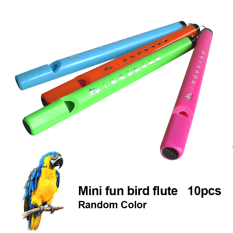 10 Pcs Birds Flute Whistle Music Educational Tools Plastic Nostalgic Music Toy Children Gifts &T8